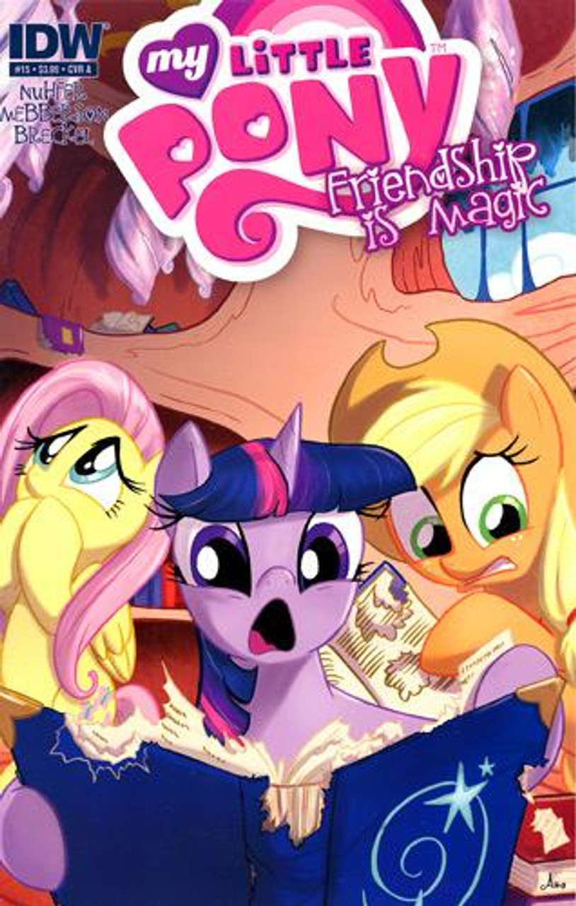 My Little Pony Friendship is Magic Comic Book #15 [Cover A]