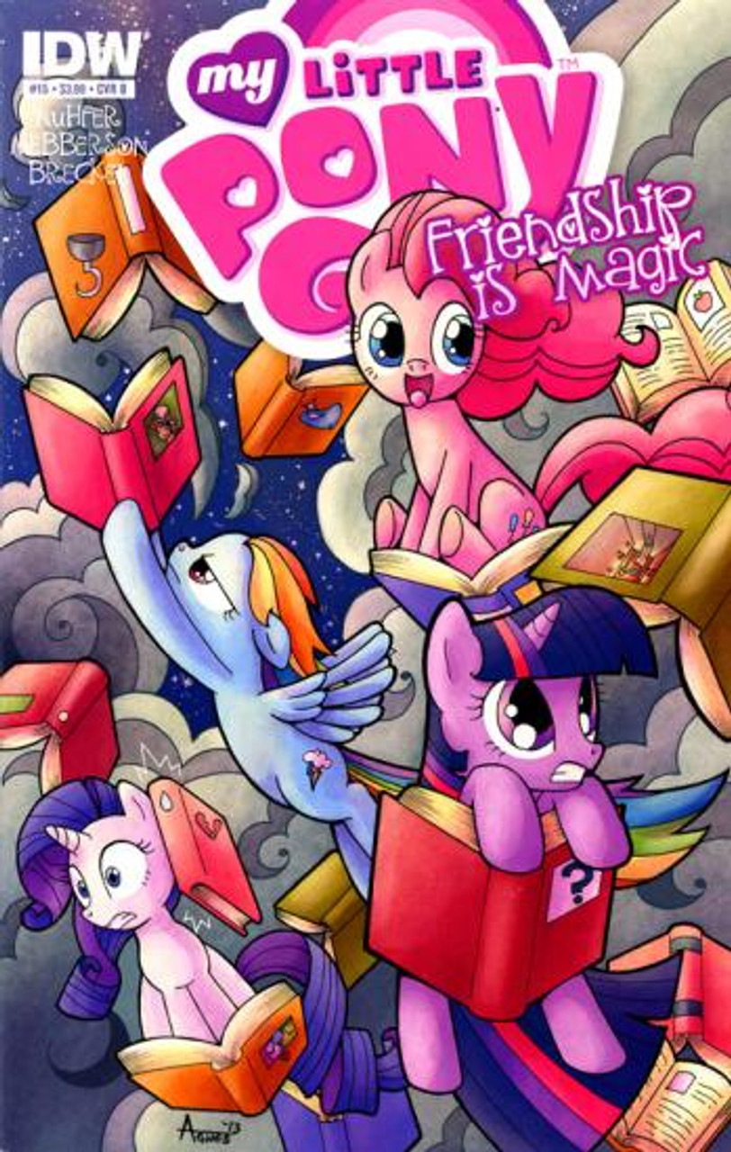 My Little Pony Friendship is Magic Comic Book #15 [Cover B]