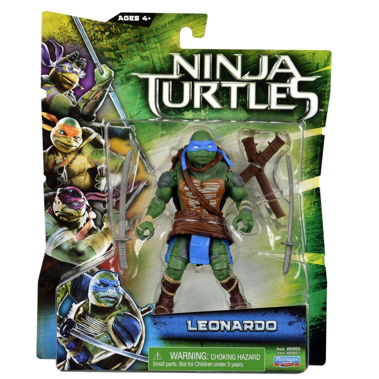 Teenage Mutant Ninja Turtles 2014 Movie Leonardo Action Figure