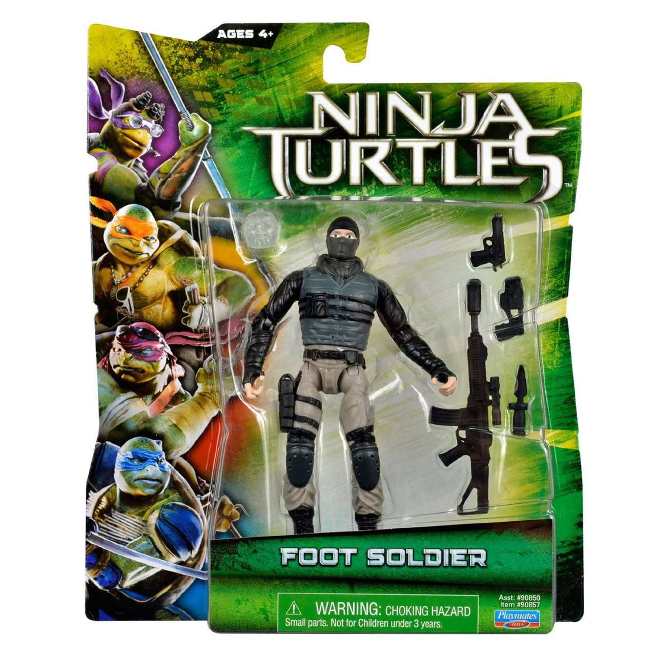 Teenage Mutant Ninja Turtles 2014 Movie Foot Soldier Action Figure