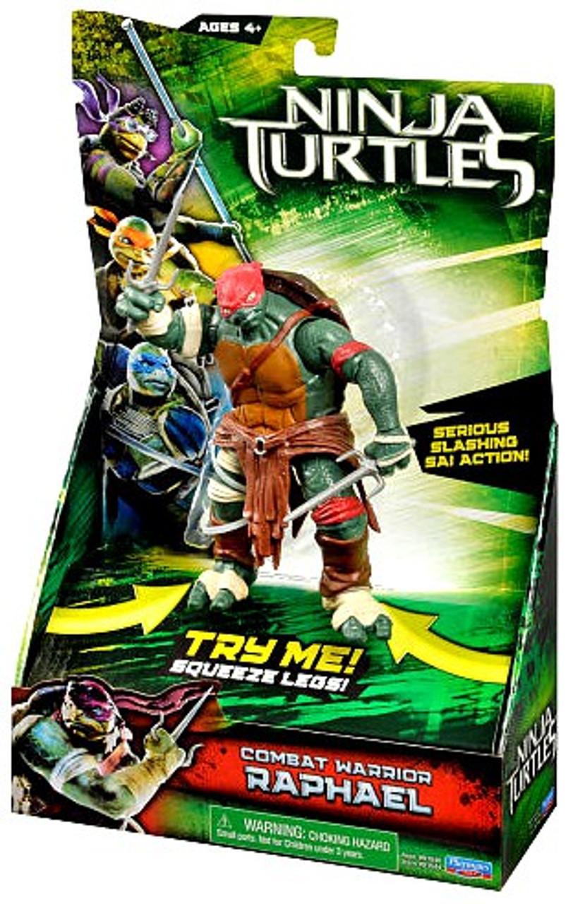 Teenage Mutant Ninja Turtles 2014 Movie Raphael Action Figure [Combat Warrior]