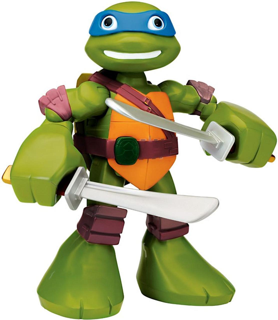 Teenage Mutant Ninja Turtles Half Shell Heroes Leonardo Deluxe Action Figure [Mega Mutant]