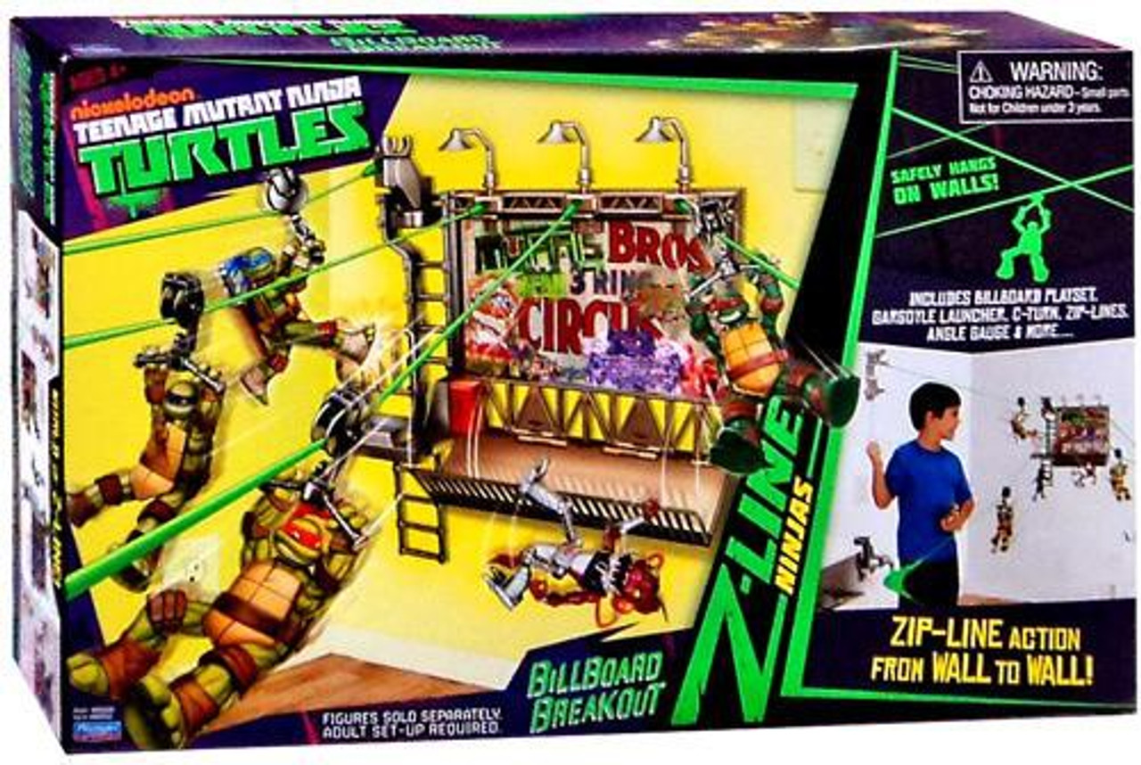 Teenage Mutant Ninja Turtles Nickelodeon Billboard Breakout Playset