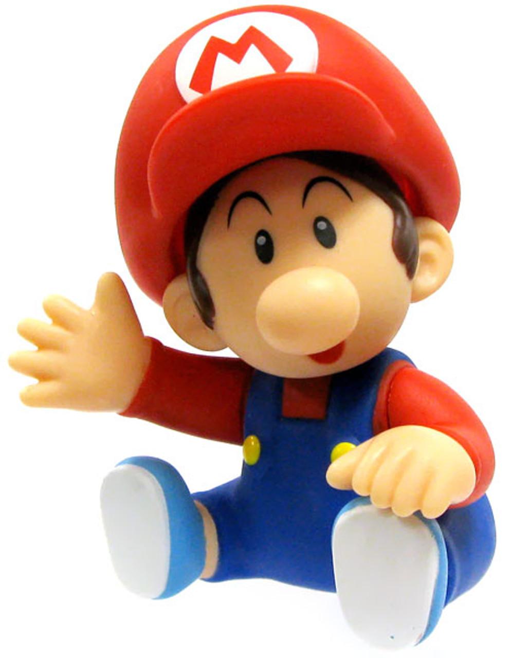 Super Mario Bros Mario 3.5-Inch PVC Figure [Baby]