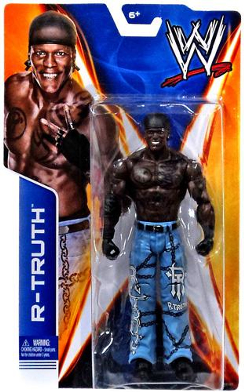 WWE Wrestling Signature Series 2014 R-Truth Action Figure