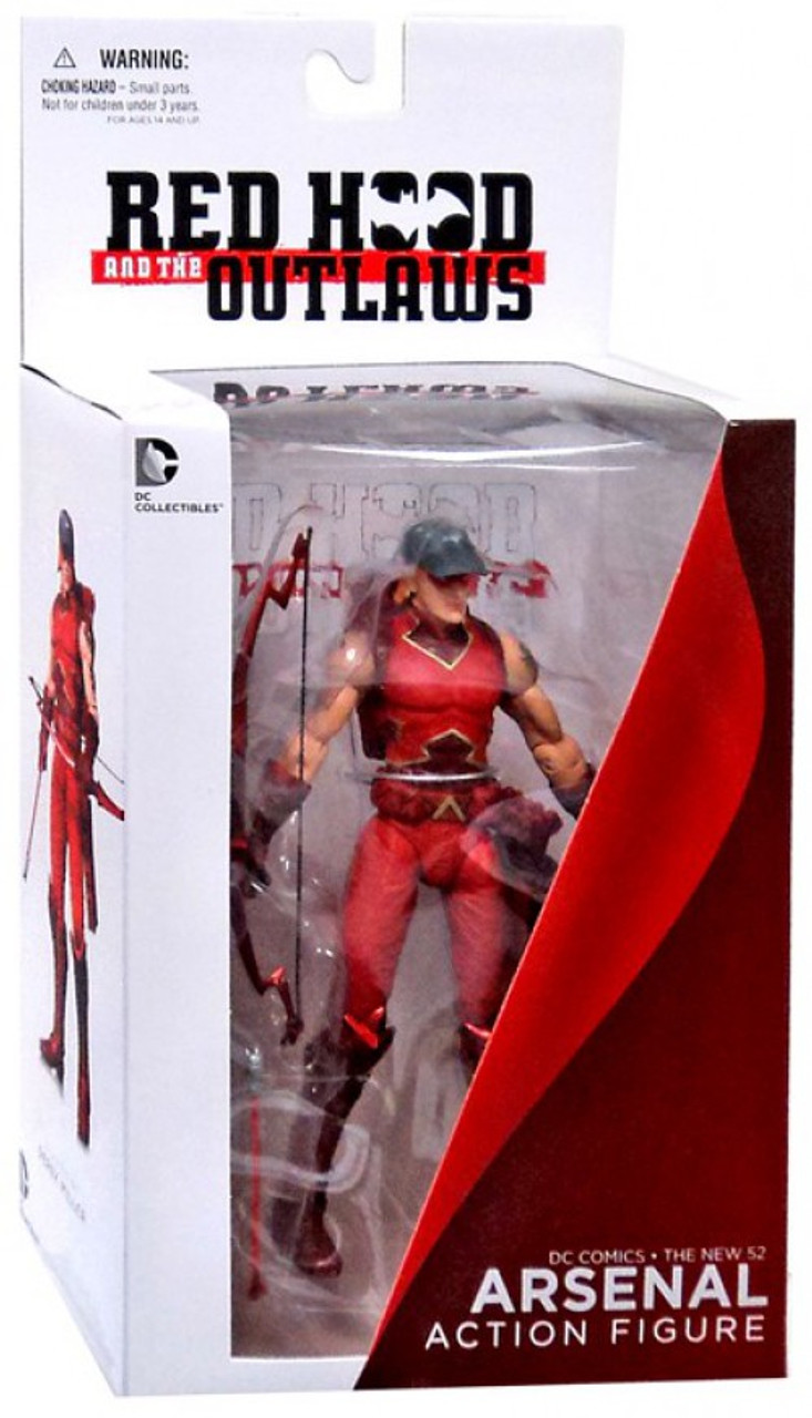 DC The New 52 Red Hood & The Outlaws Arsenal Action Figure