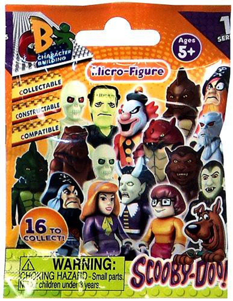 Scooby Doo Micro Figure Series 1 Mystery Pack