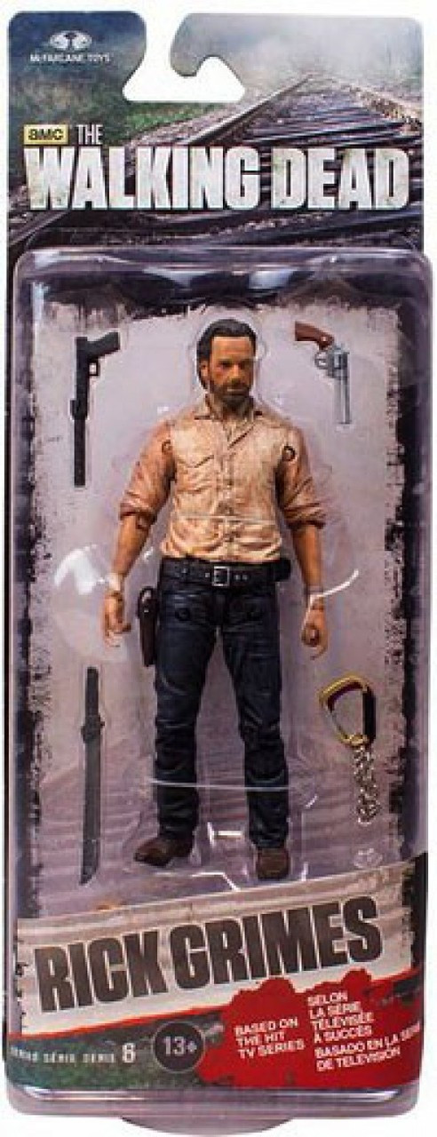 McFarlane Toys Walking Dead AMC TV Series 6 Rick Grimes Action Figure