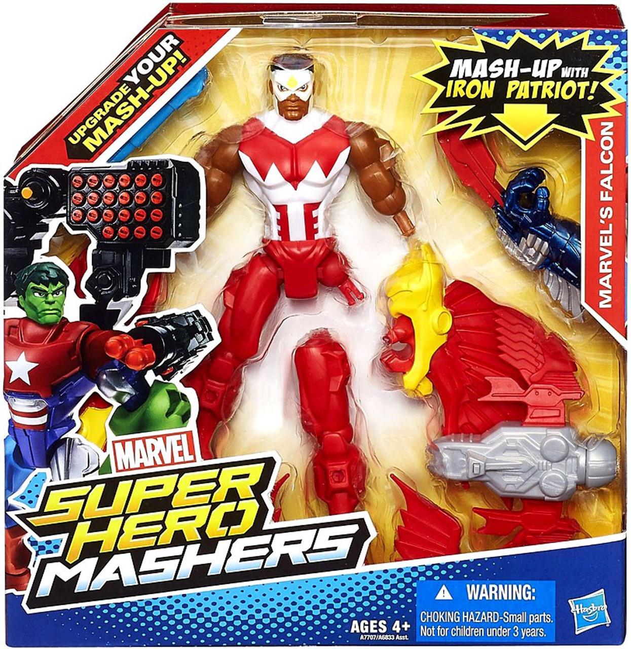 Marvel Super Hero Mashers Battle Upgrade Falcon Action Figure