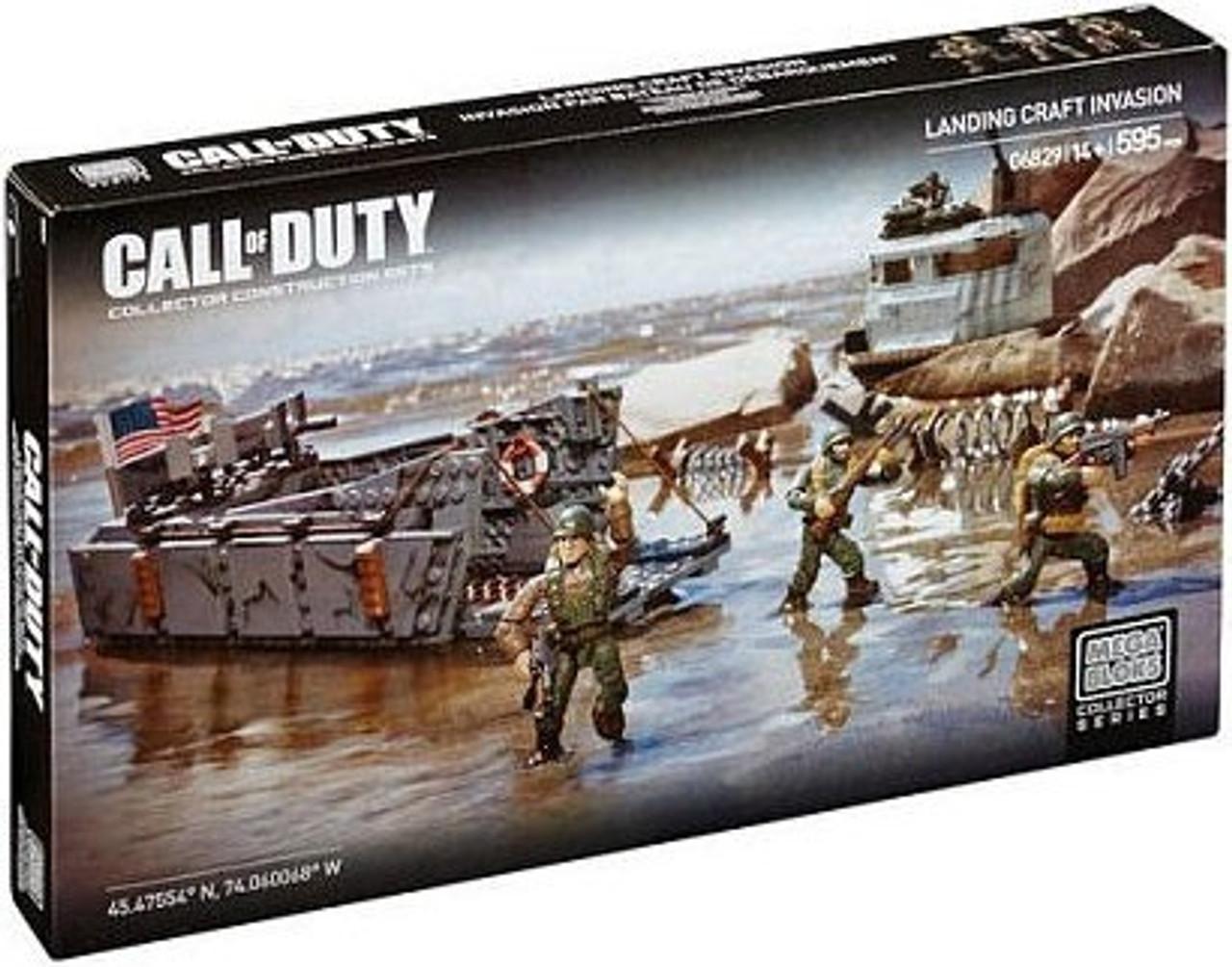 Mega Bloks Call of Duty Landing Craft Invasion Set #06829