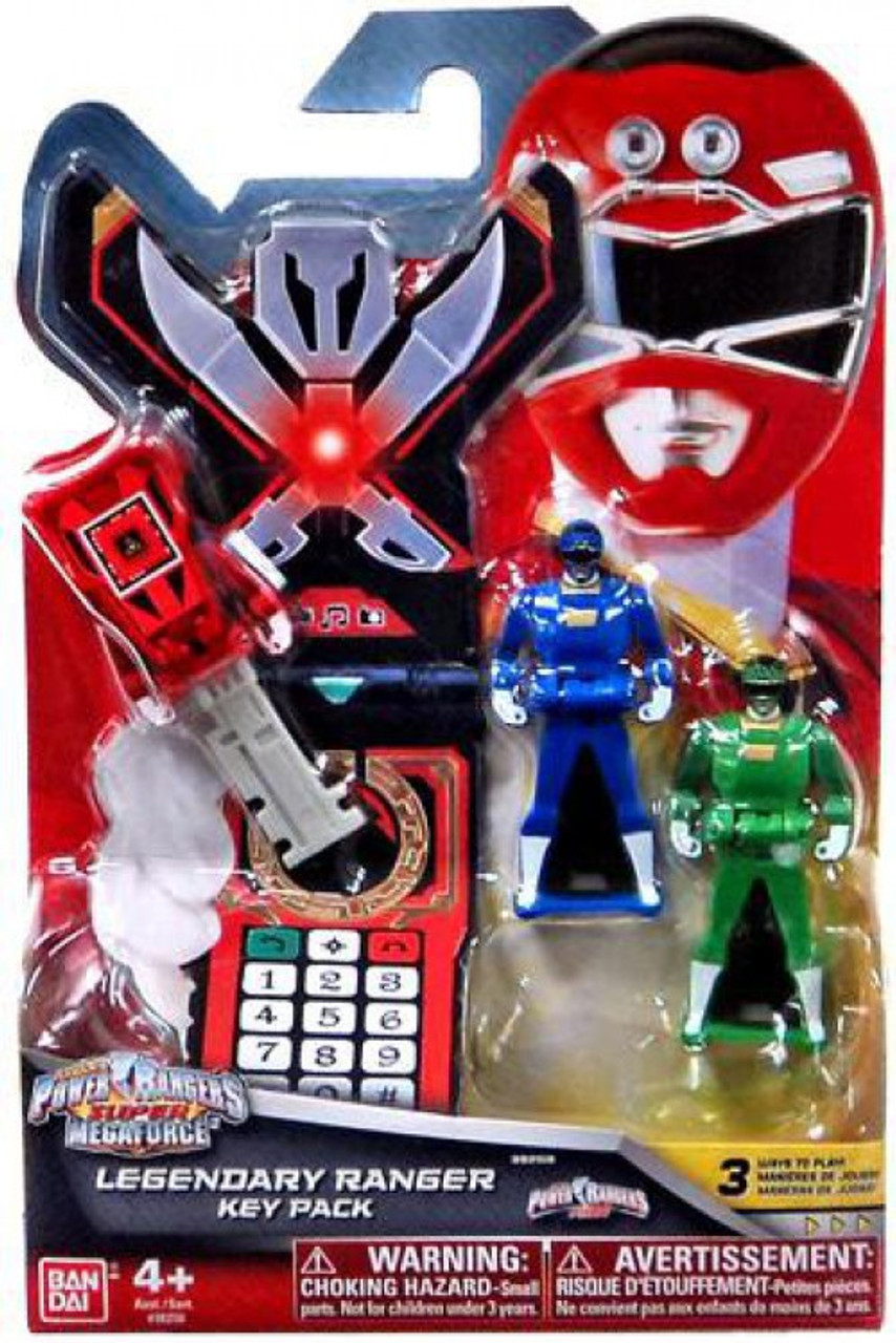 Power Rangers Super Megaforce Legendary Ranger Key Pack Roleplay Toy [Turbo]