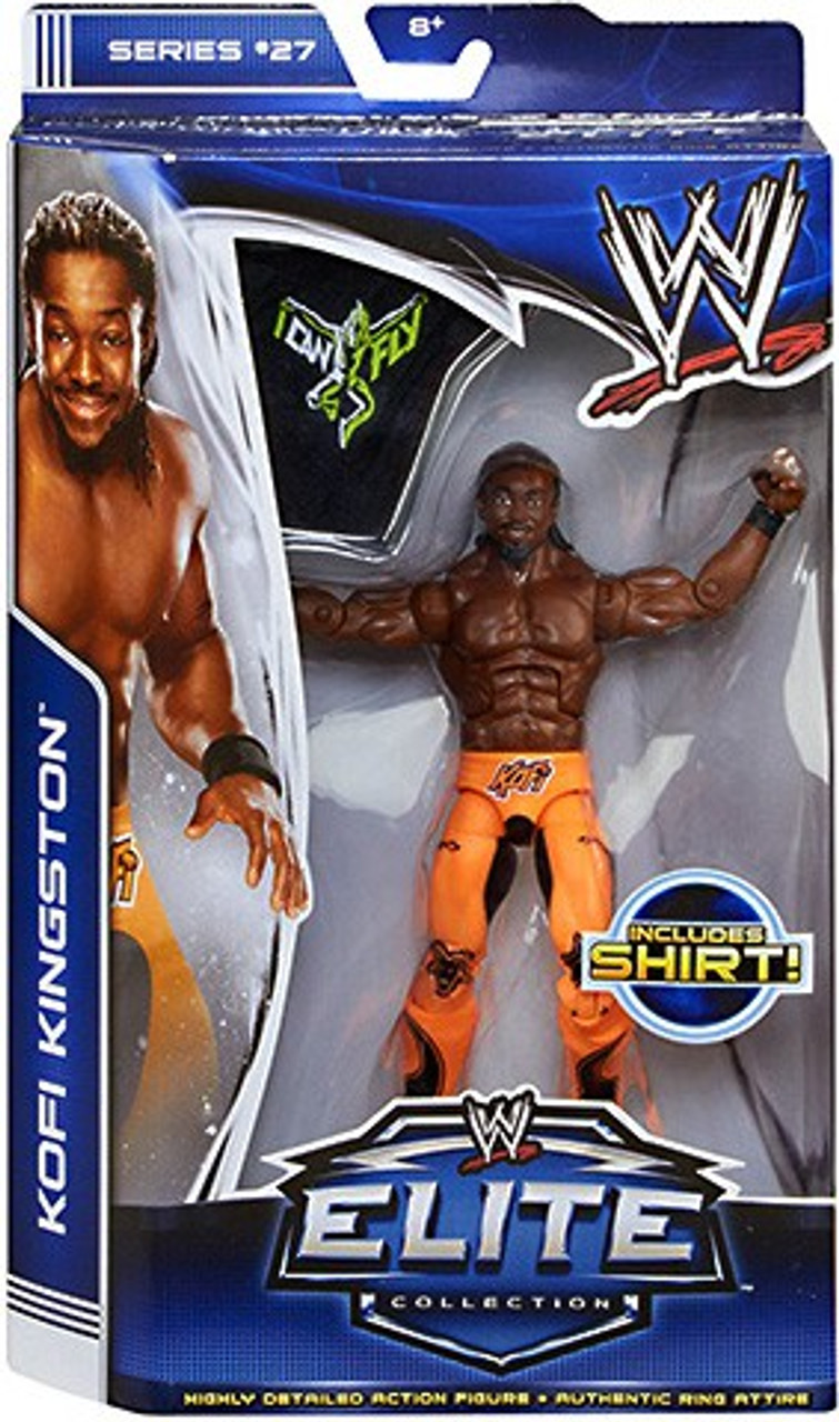 WWE Wrestling Elite Series 27 Kofi Kingston Action Figure [Shirt]