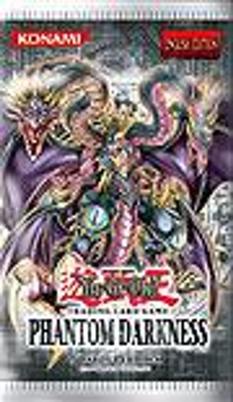 YuGiOh Phantom Darkness Booster Pack