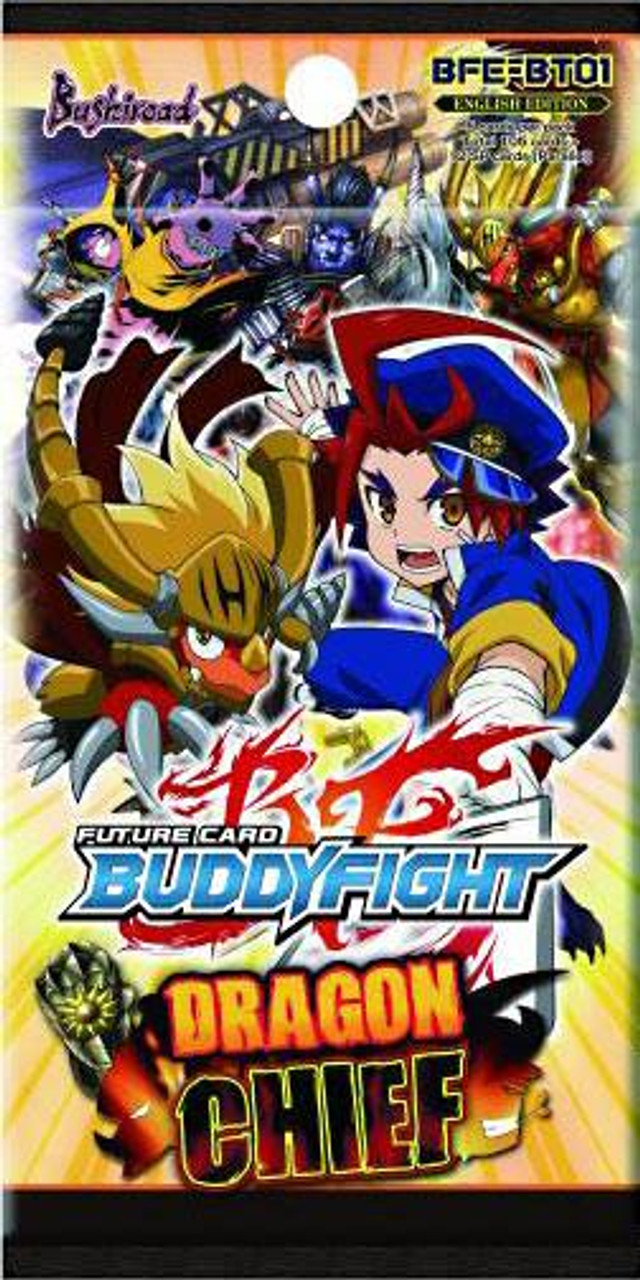 Future Card BuddyFight Dragon Chief Booster Pack BFE-BT01