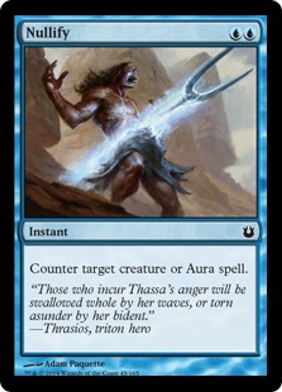 MtG Born of the Gods Common Nullify #45