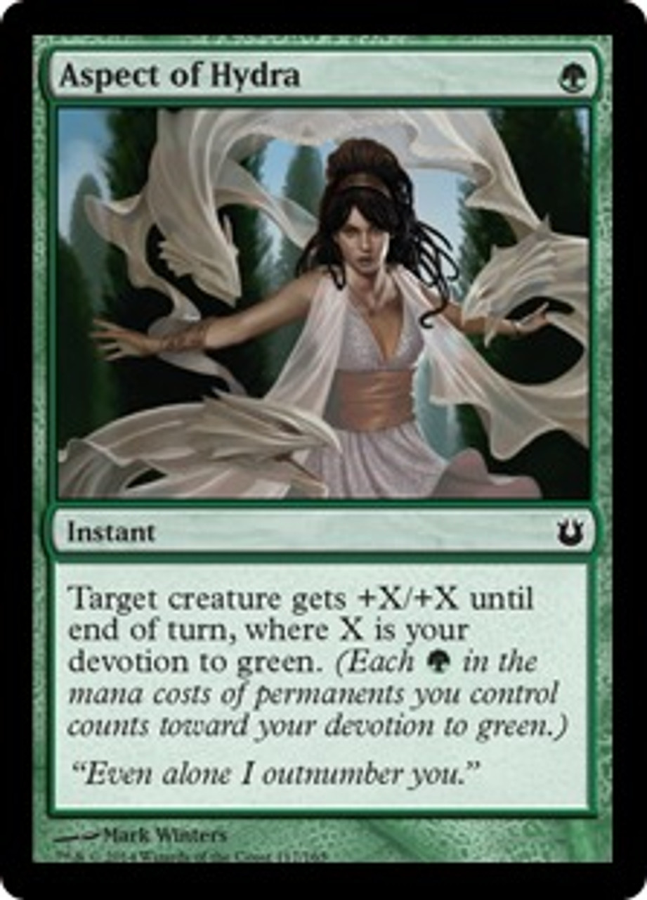 MtG Born of the Gods Common Aspect of Hydra #117