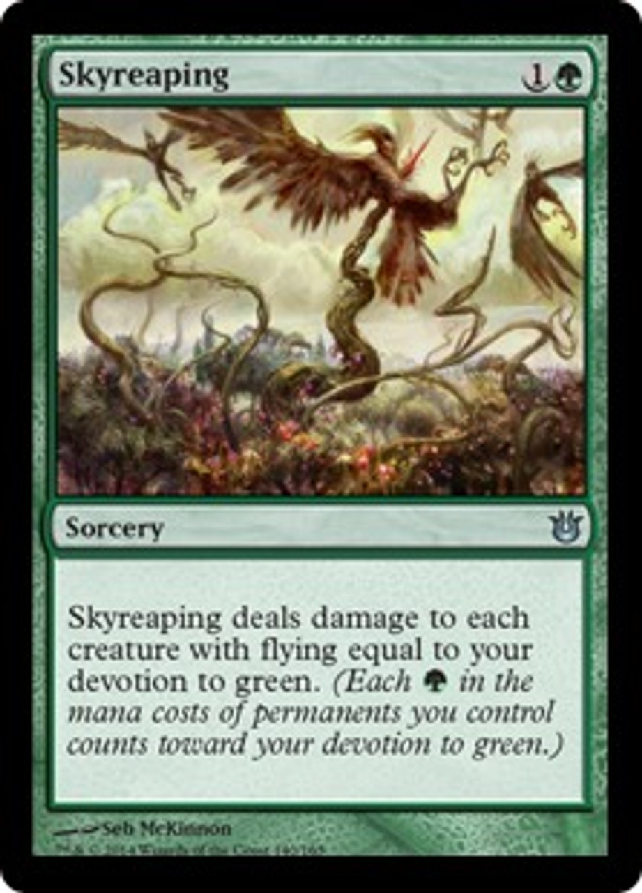 MtG Born of the Gods Uncommon Skyreaping #140