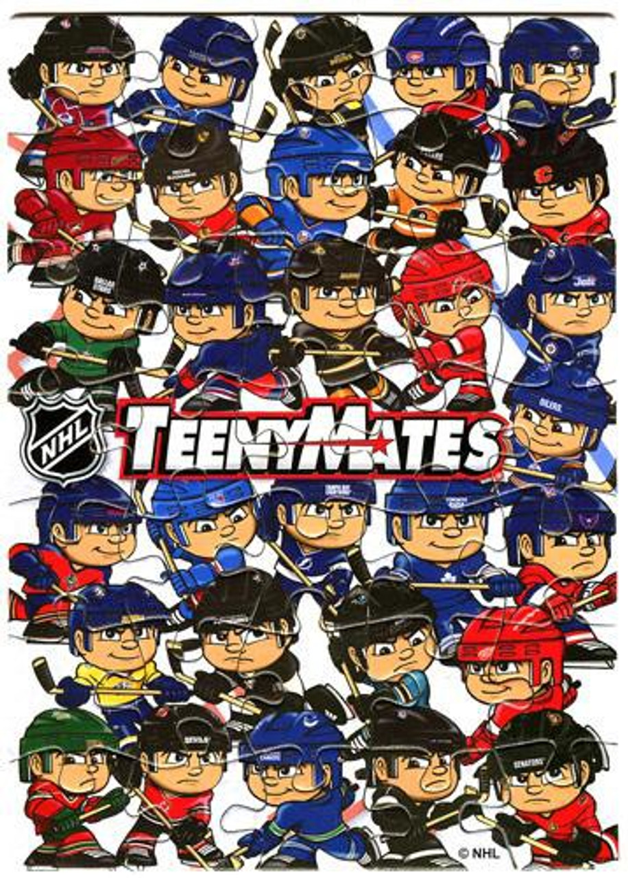 TeenyMates NHL Series 1 Puzzle [32 pieces]