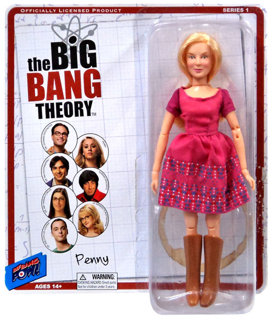 The Big Bang Theory Retro Style Penny Action Figure