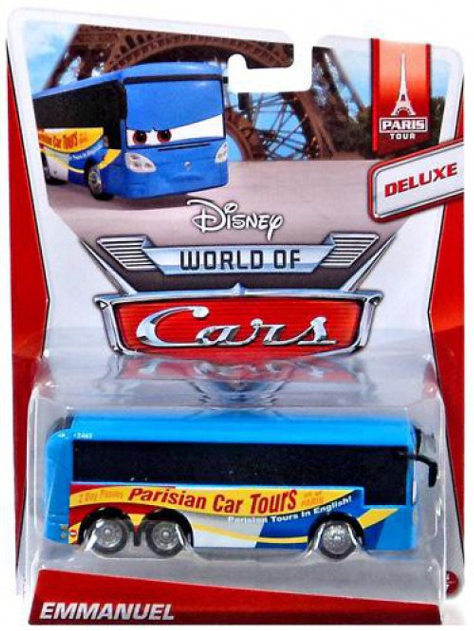 Disney Cars The World of Cars Series 2 Emmanuel Diecast Car #3/7
