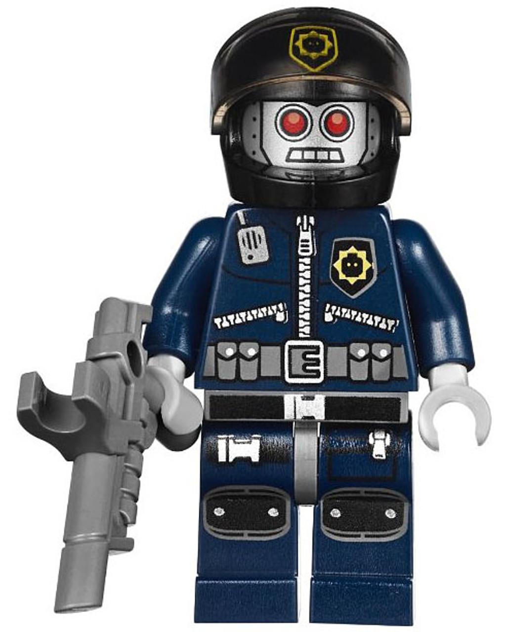 The LEGO Movie Loose Robo SWAT Minifigure [Helmet]