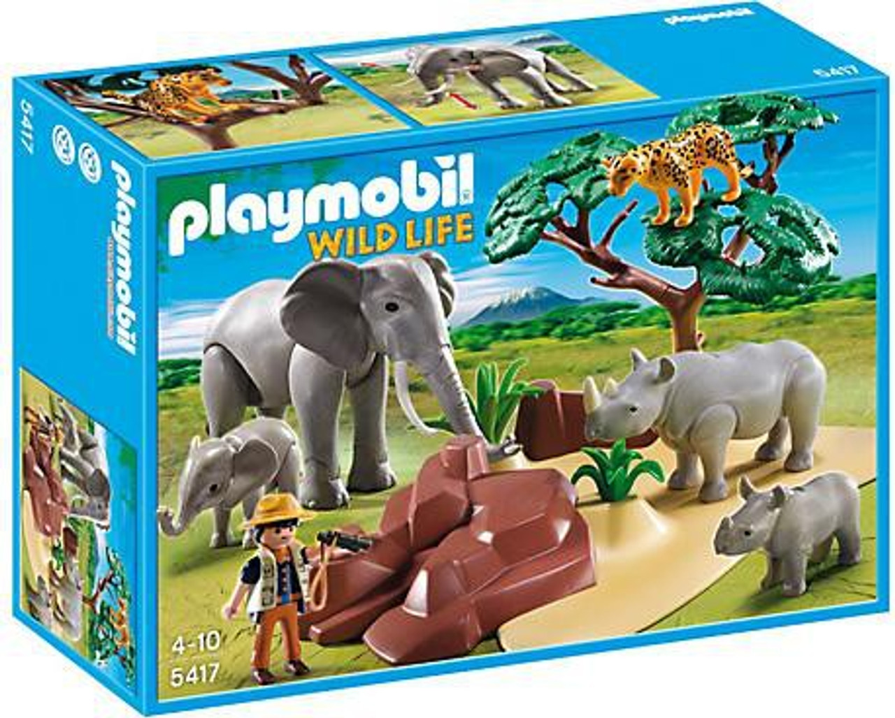 Playmobil Wild Life African Savannah with Animals Set #5417