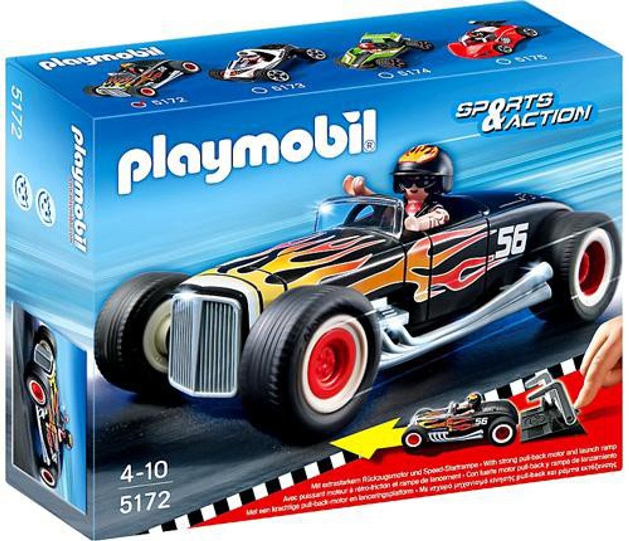 Playmobil Sports & Action Heat Racer Set #5172