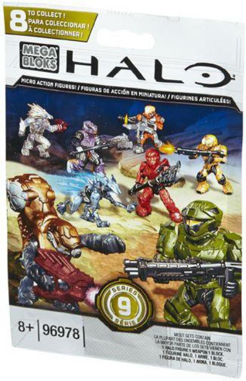 Mega Bloks Halo Series 9 Minifigure Mystery Pack #96978-9