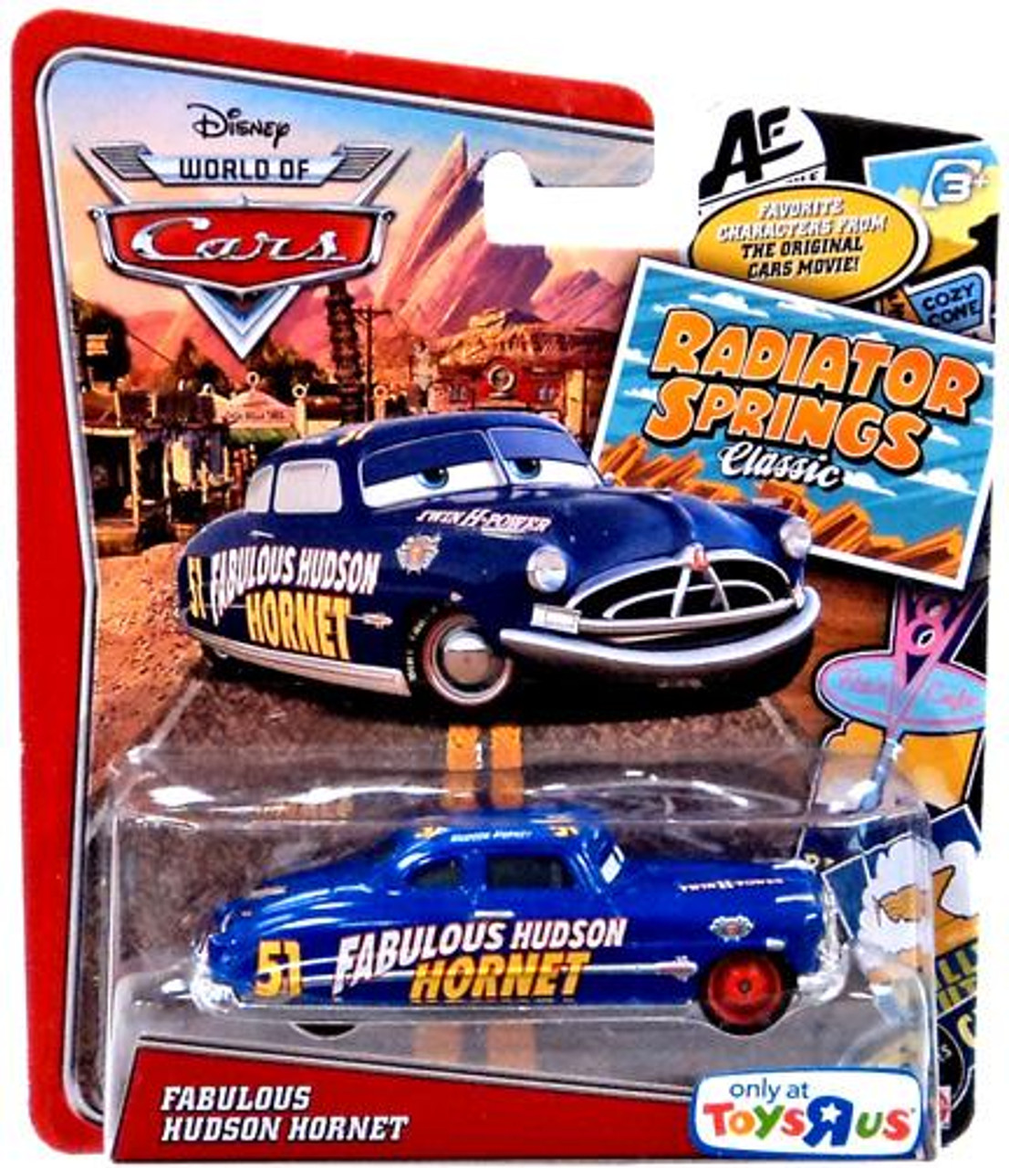 Disney Cars The World of Cars Radiator Springs Classic Fabulous Hudson Hornet Exclusive Diecast Car