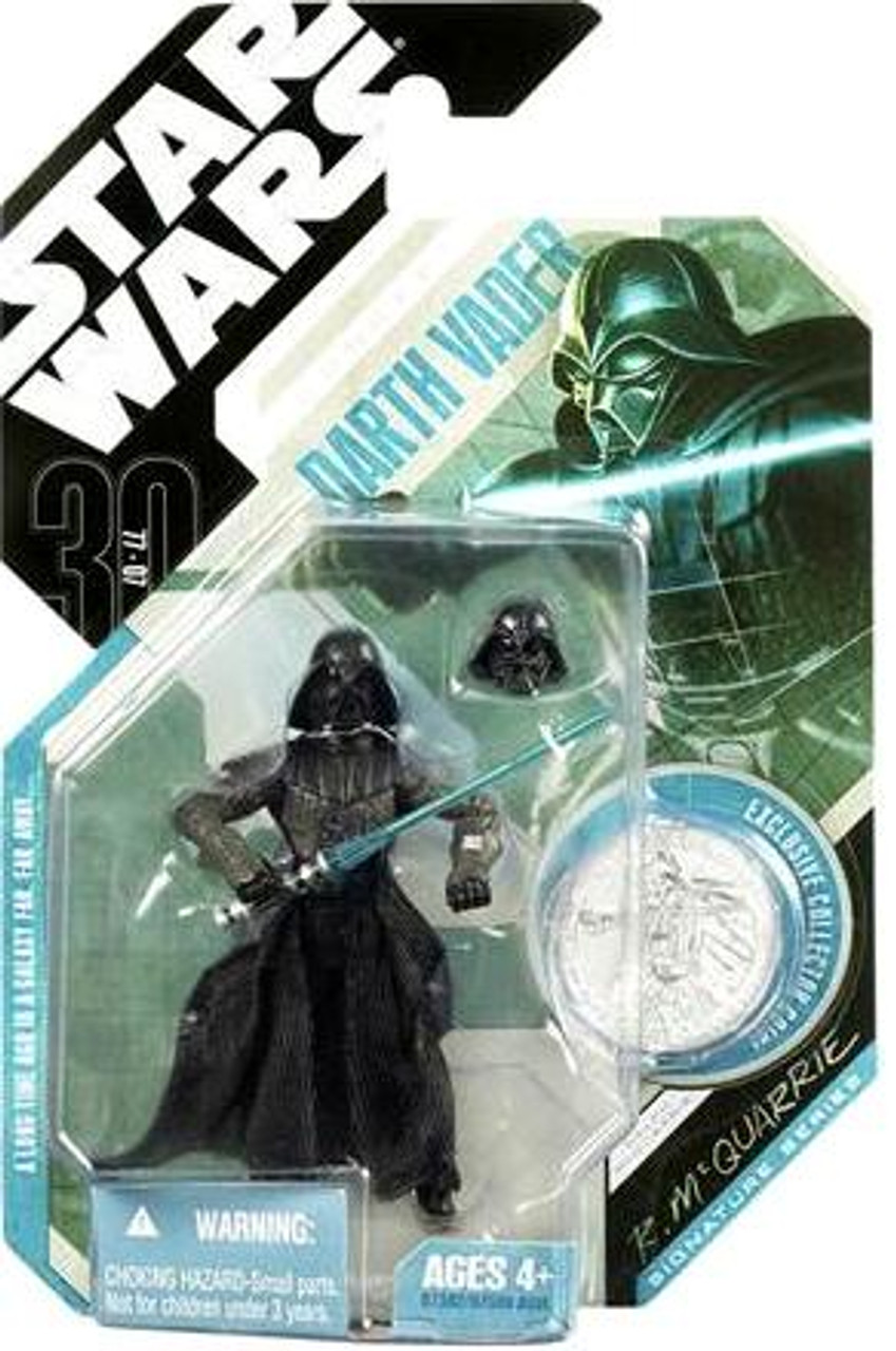 Star Wars Expanded Universe 30th Anniversary 2007 Wave 4 Darth Vader Action Figure #28 [McQuarrie Concept]