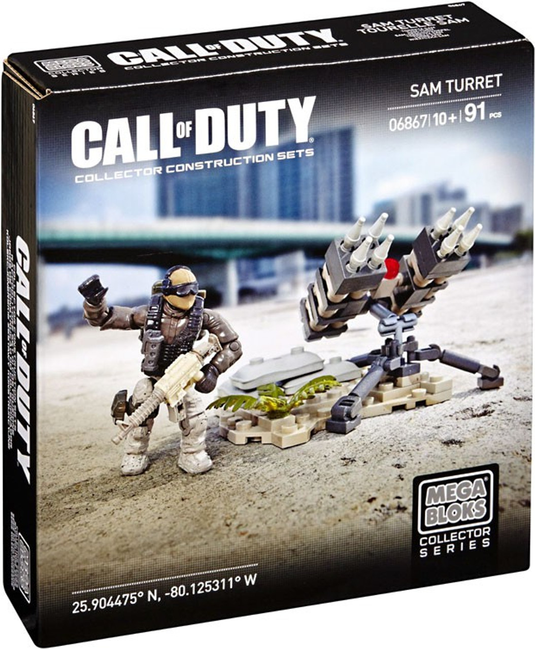 Mega Bloks Call of Duty SAM Turret Set #06867