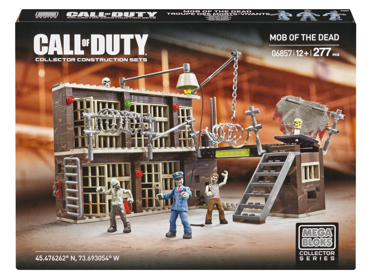 Mega Bloks Call of Duty Mob of the Dead Set #06857