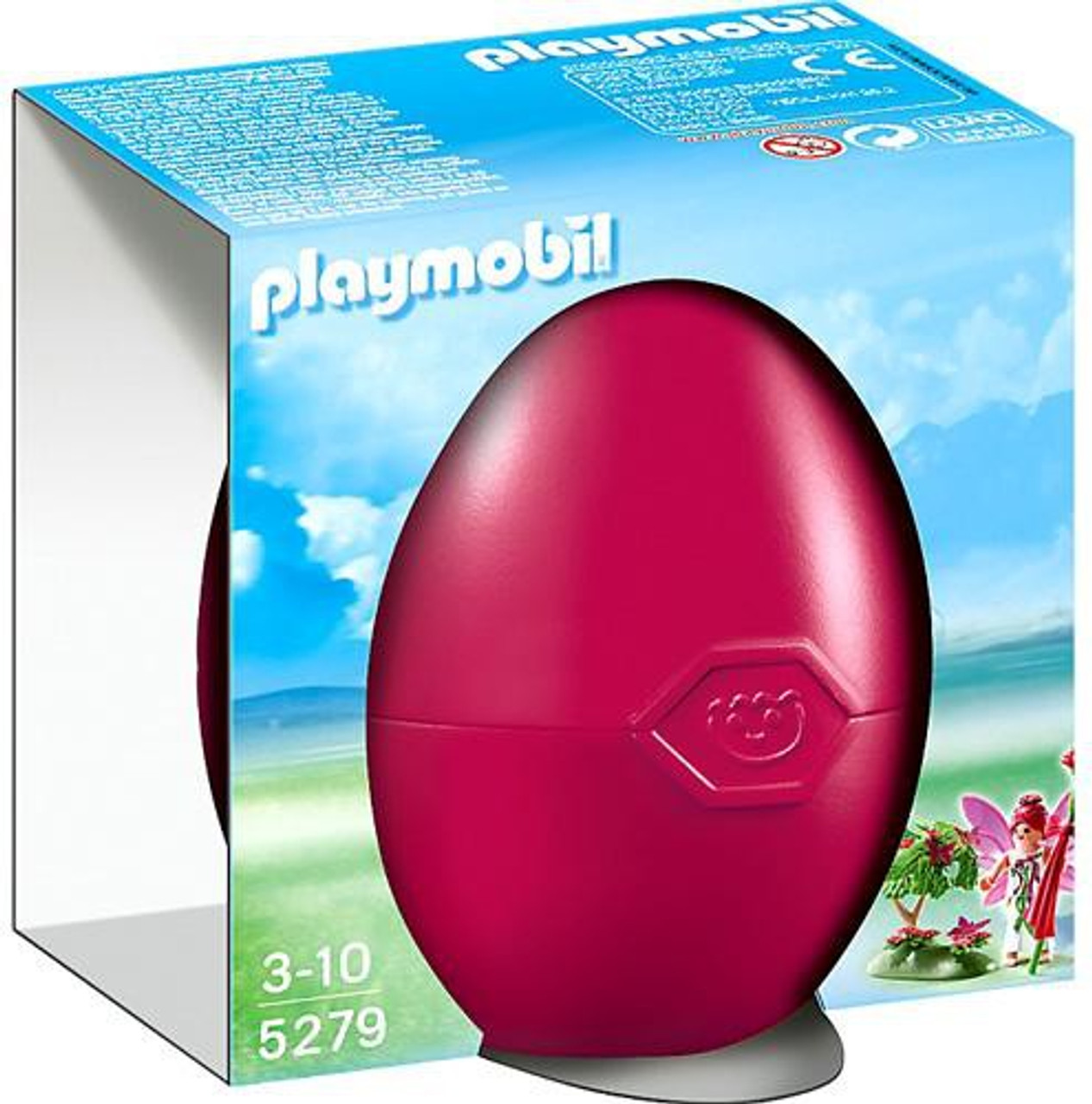 Playmobil Egg Flower Fairy with Enchanted Tree Set #5279