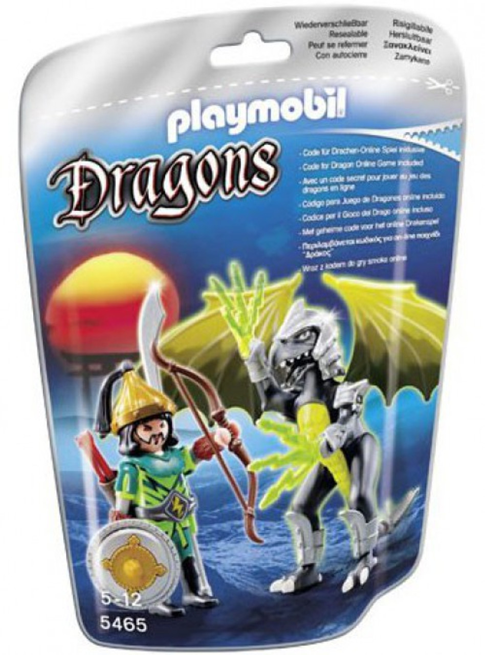 Playmobil Dragons Lightning Dragon with Warrior Set #5465