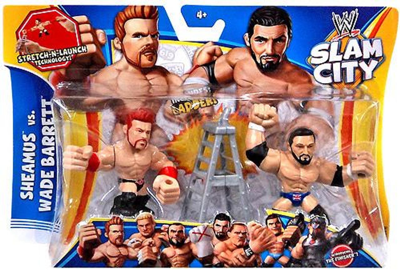WWE Wrestling Slam City Sheamus & Wade Barrett Action Figure 2-Pack