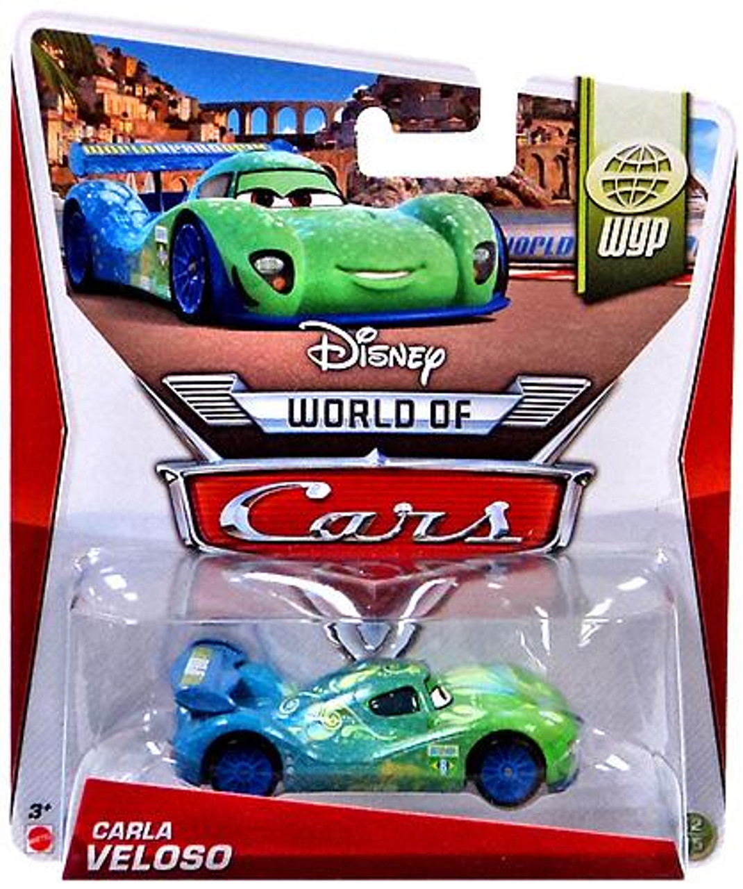 Disney Cars The World of Cars Series 2 Carla Veloso Diecast Car