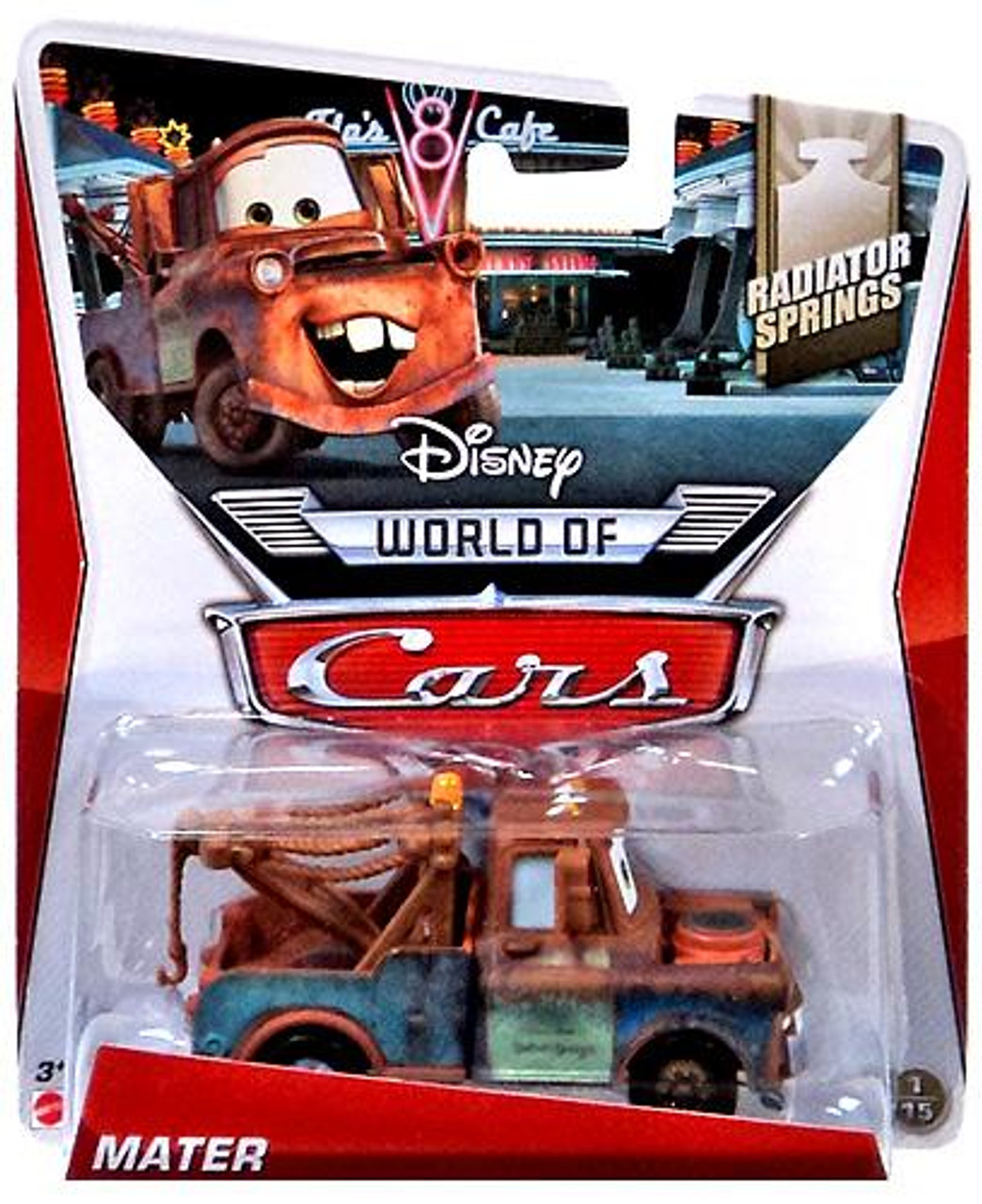 Disney Cars The World of Cars Series 2 Mater Diecast Car