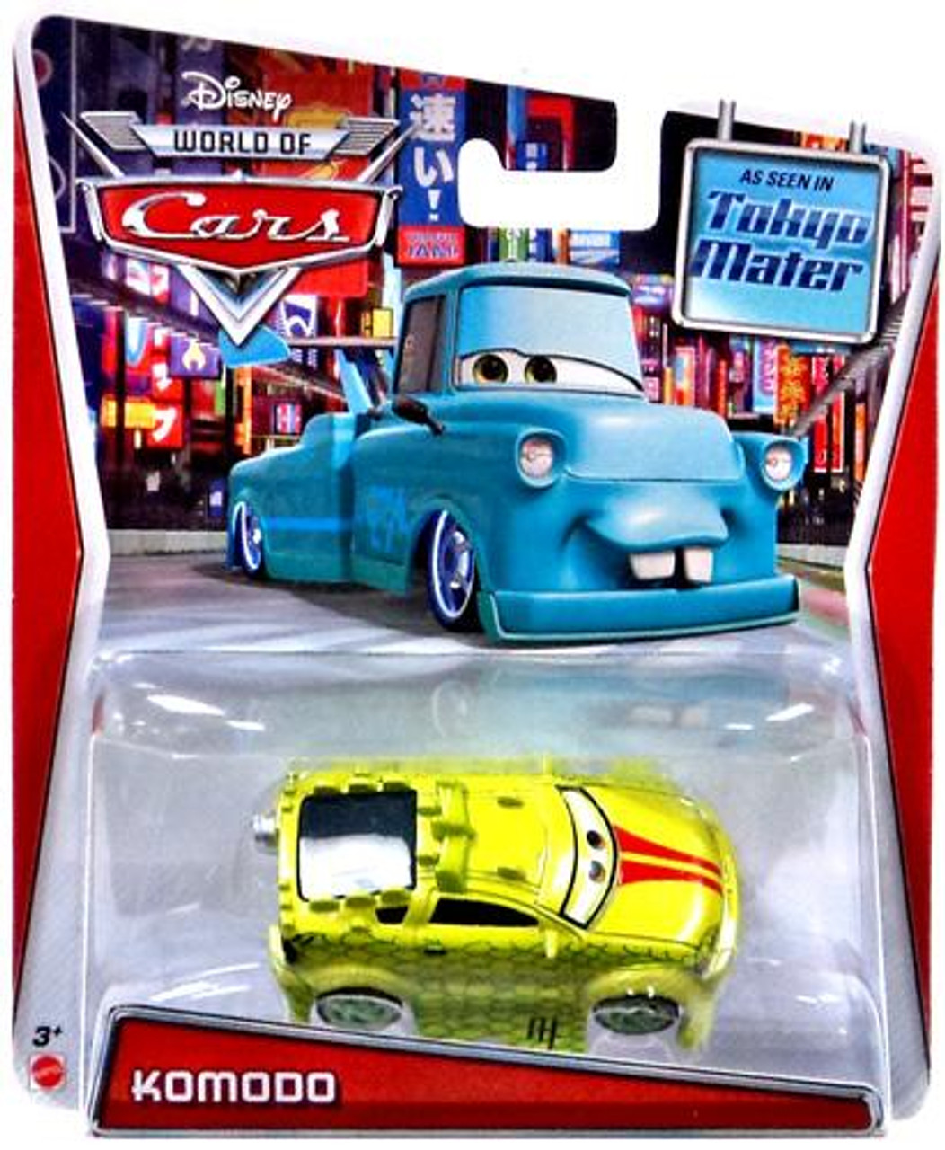 Disney Cars The World of Cars Series 2 Komodo Exclusive Diecast Car