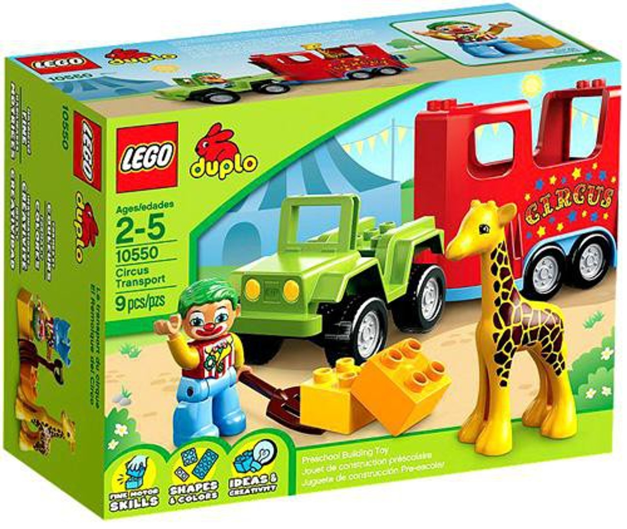 LEGO Duplo Circus Transport Set #10550