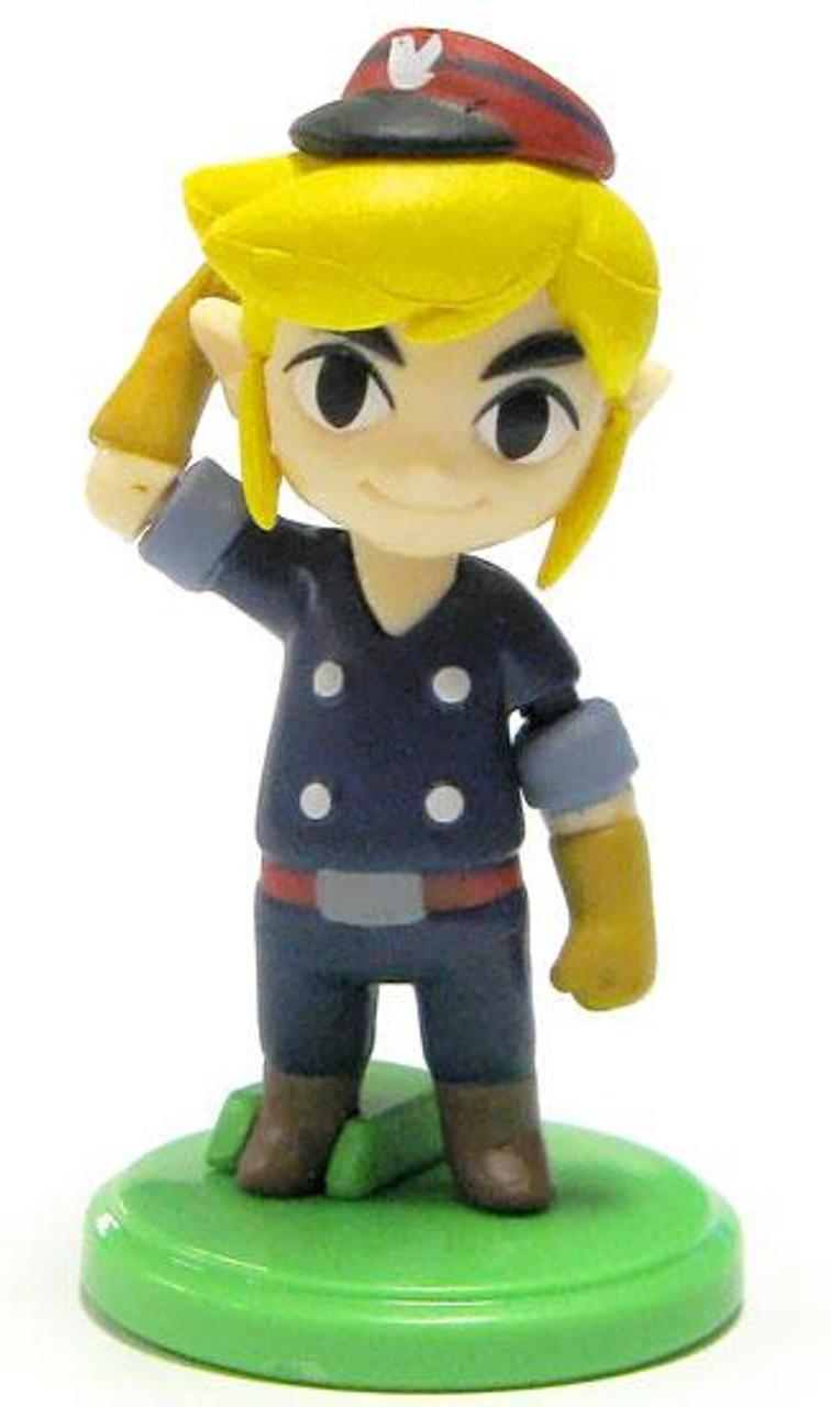 The Legend of Zelda Spirit Tracks 2 Furuta Choco Egg Engineer Link 1.5-Inch Chase PVC Figure