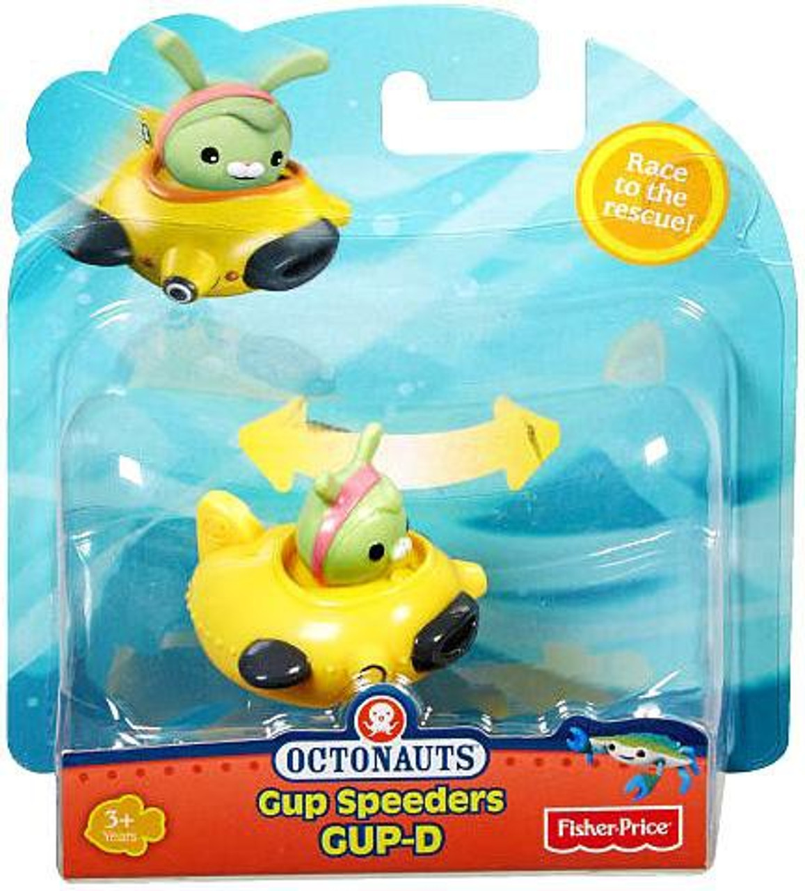 Fisher Price Octonauts Gup Speeders GUP-D Toy Vehicle