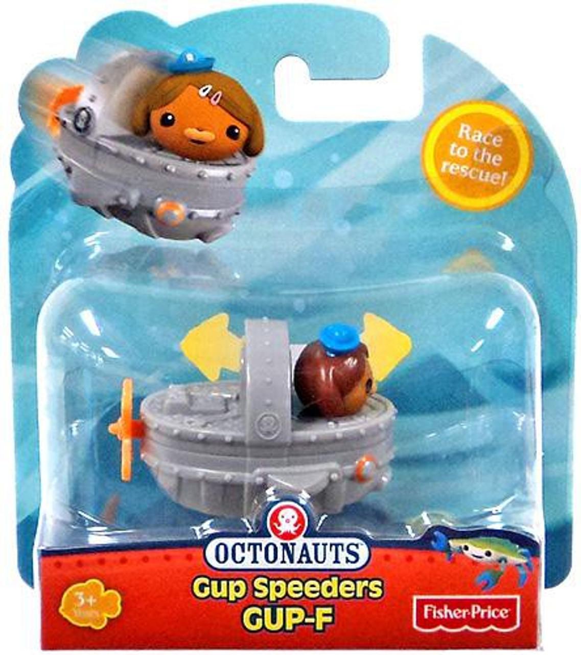 Fisher Price Octonauts Gup Speeders GUP-F Toy Vehicle