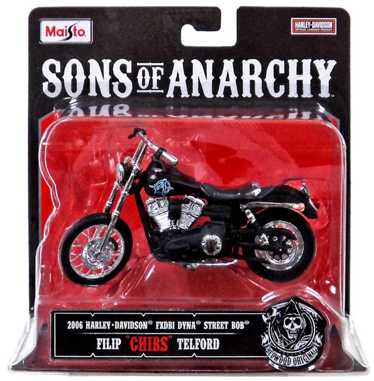 "Sons of Anarchy Filip ""Chibs"" Telford Diecast Replica Bike"