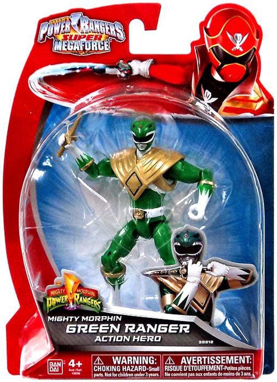 Power Rangers Super Megaforce Mighty Morphin Green Ranger Action Hero Action Figure