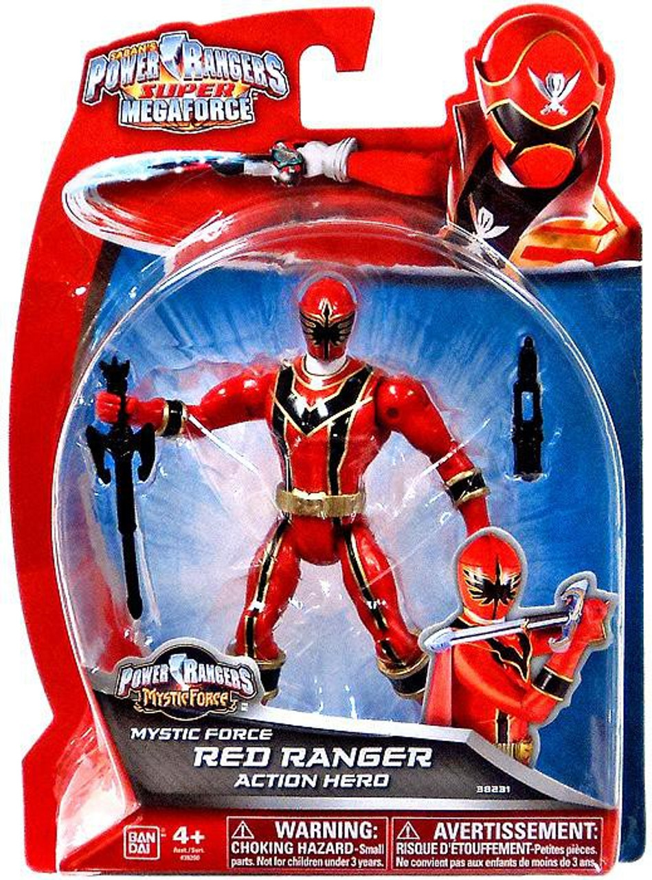 Power Rangers Super Megaforce Mystic Force Red Ranger Action Hero Action Figure