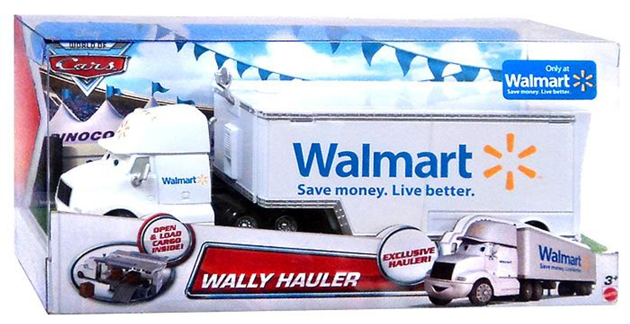 Disney Cars The World of Cars Wally Hauler Exclusive Diecast Car
