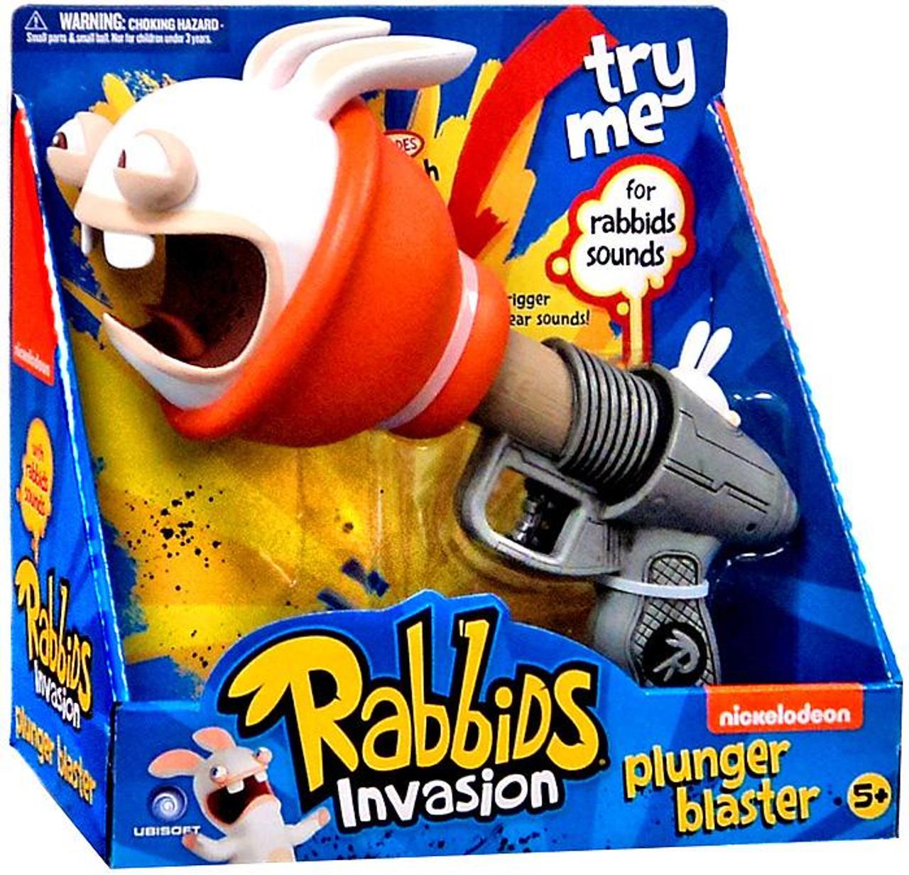 Raving Rabbids Rabbids Invasion Plunger Blaster Roleplay Toy