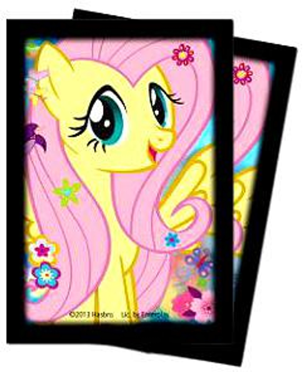 Ultra Pro My Little Pony Card Supplies Fluttershy Deck Protector Small Card Sleeves [60 Count]