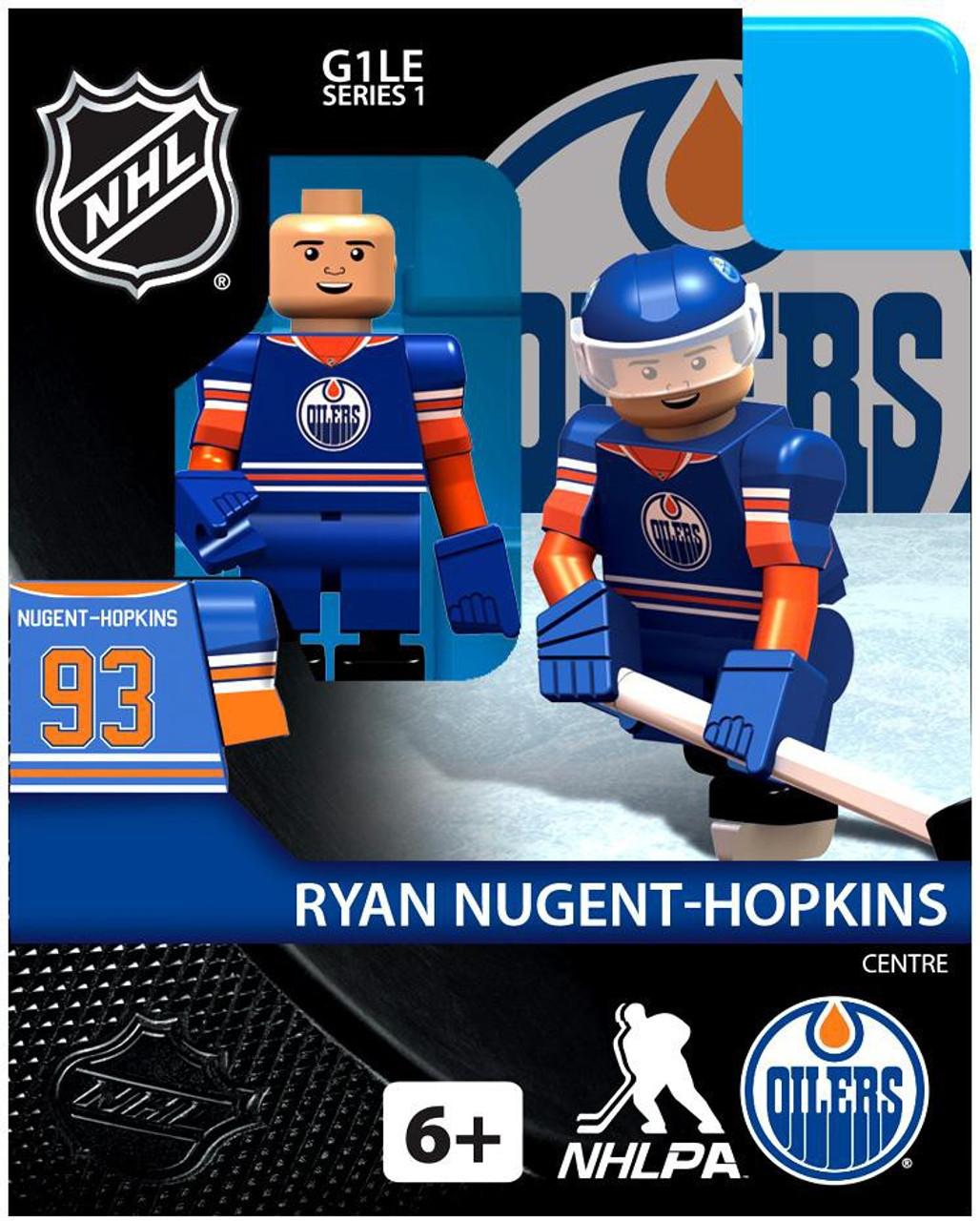 Edmonton Oilers NHL Generation 1 Series 1 Ryan Nugent Hopkins Minifigure