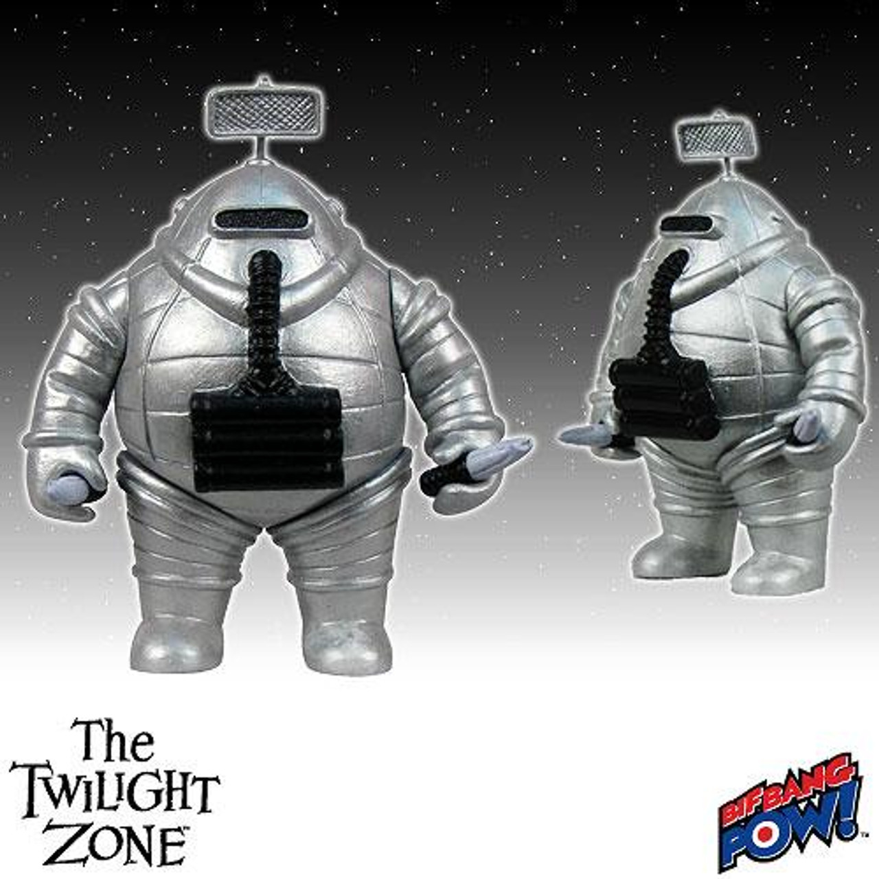 The Twilight Zone Invader Action Figure